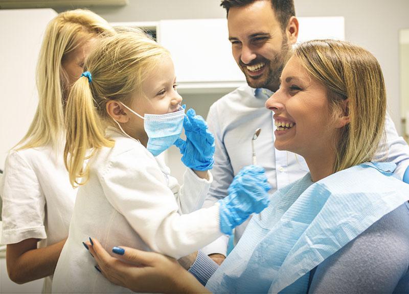 Profesjonalna higiena zębów idziąseł